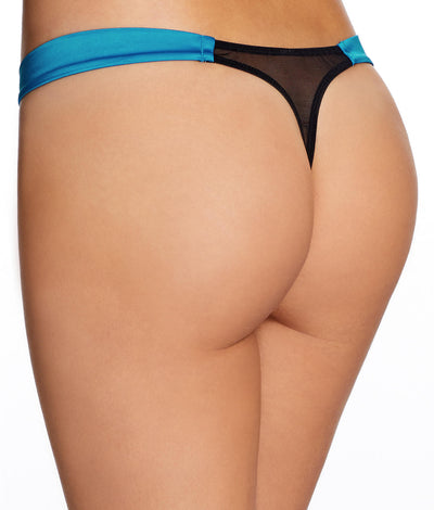 Adalicia Thong in Turquoise
