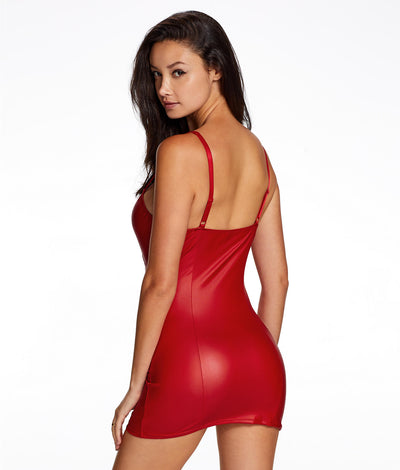 Addiction Dress in Red