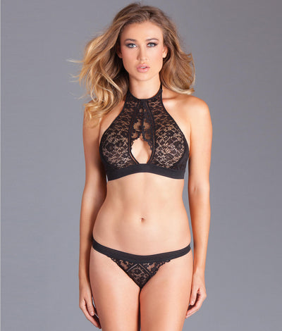 Sabrina Bra & Panty Set in Black