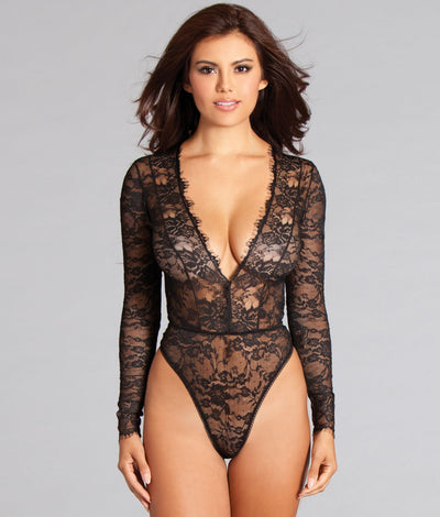Lilly Teddy in Black