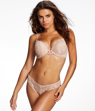 Jessica Lace Push-Up Bra in Nude