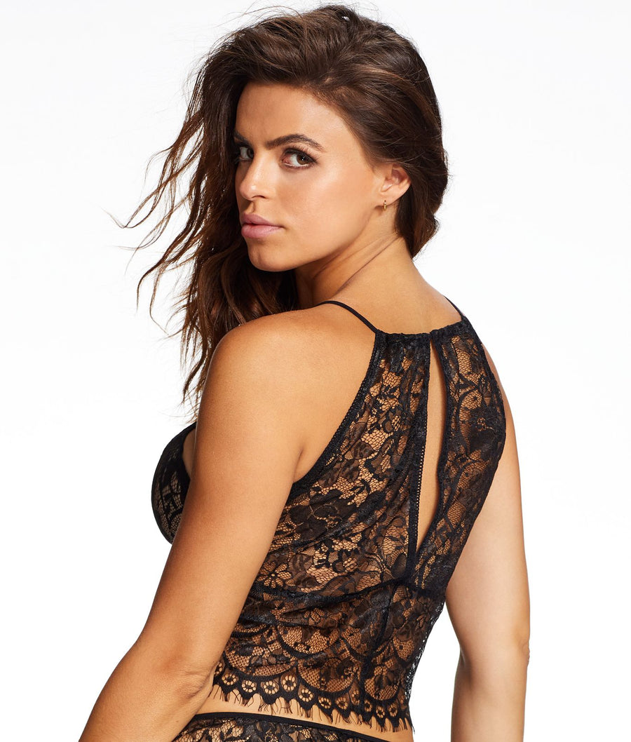 Black||Noemi Lace Cami in Black