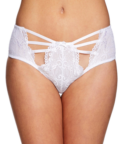 Luisa Lou Boyshort in White