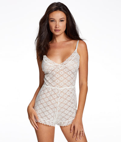 Alessandra Romper in Cloud Dancer