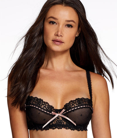 Desire Demi Bra in Black