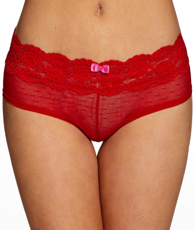 Posh Hipster Panty in Red