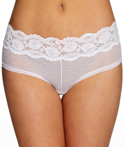 Posh Hipster Panty in White