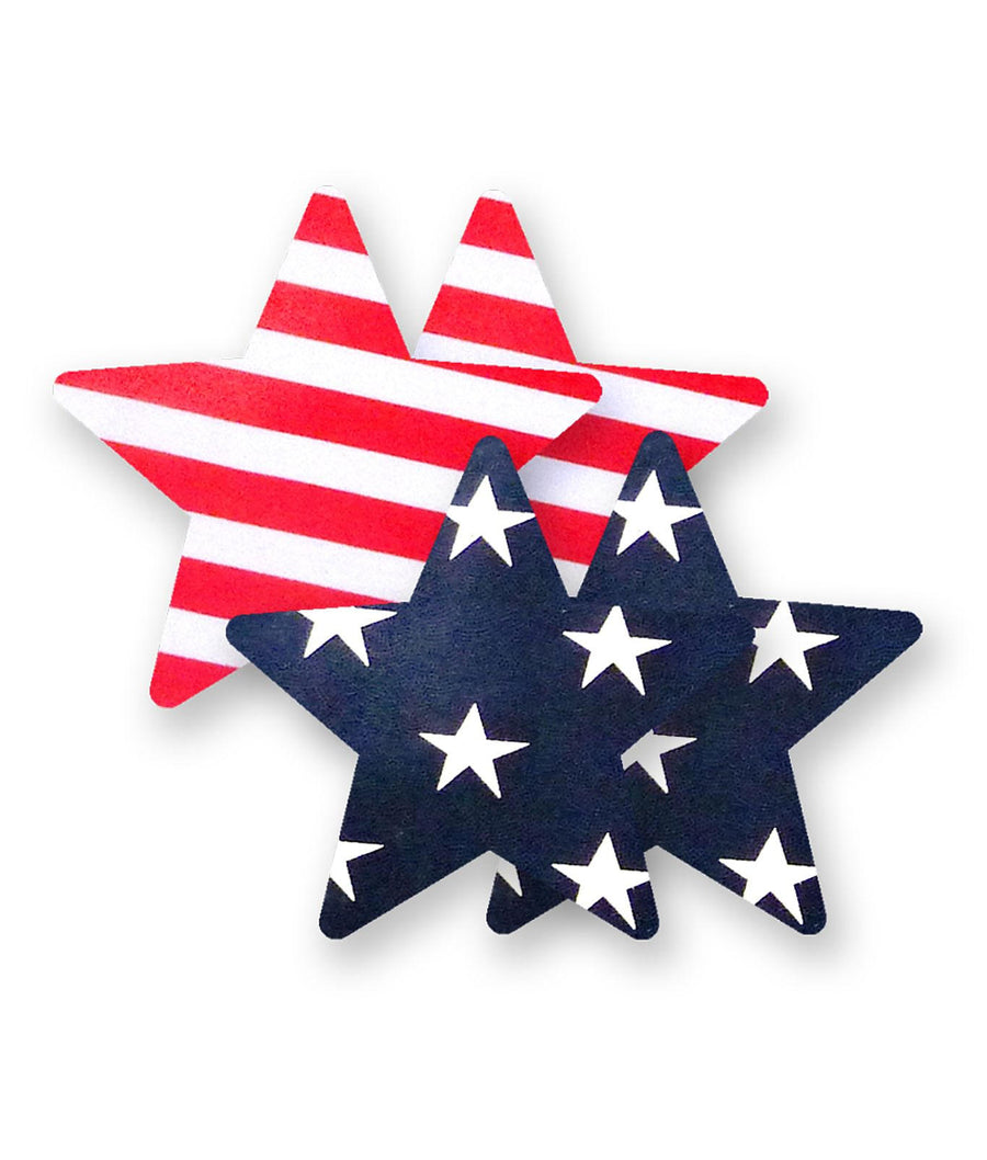Stars and Stripes||Nippies Patriot Stars in Stars and Stripes