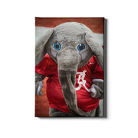 Alabama Crimson Tide Big Al Canvas Wall Decor