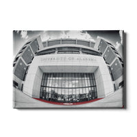 Alabama Crimson Tide Bryant-Denny Football Stadium Main Entrance Canvas Wall Art