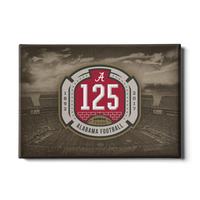 Alabama Crimson Tide - 125th Bama - American football Canvas Wall Art