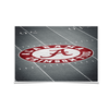 Alabama Crimson Tide - Bryant-Denny Football Stadium 50 Yard Line Large Photo Print Wall Decor