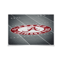 Alabama Crimson Tide Alabamaå¨ 50 Yard Line Photo Print