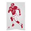 Alabama Crimson Tide Bamaå¨ Illustration Photo Print