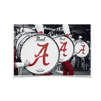 Alabama Crimson Tide MDB Drums Photo Print