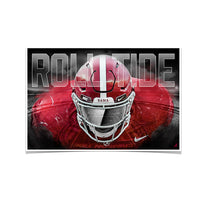 Alabama RollTide - Bama Bring It - College Football Large Photo Print Wall Decor