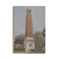 Alabama Crimson Tide Denny Chimes™ wood art