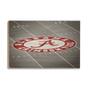 Alabama Crimson Tide - Bryant-Denny Football Stadium 50 Yard Line Wood Wall Art Decor