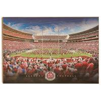 Alabama Crimson Tide - American College Football - Wood Wall Art