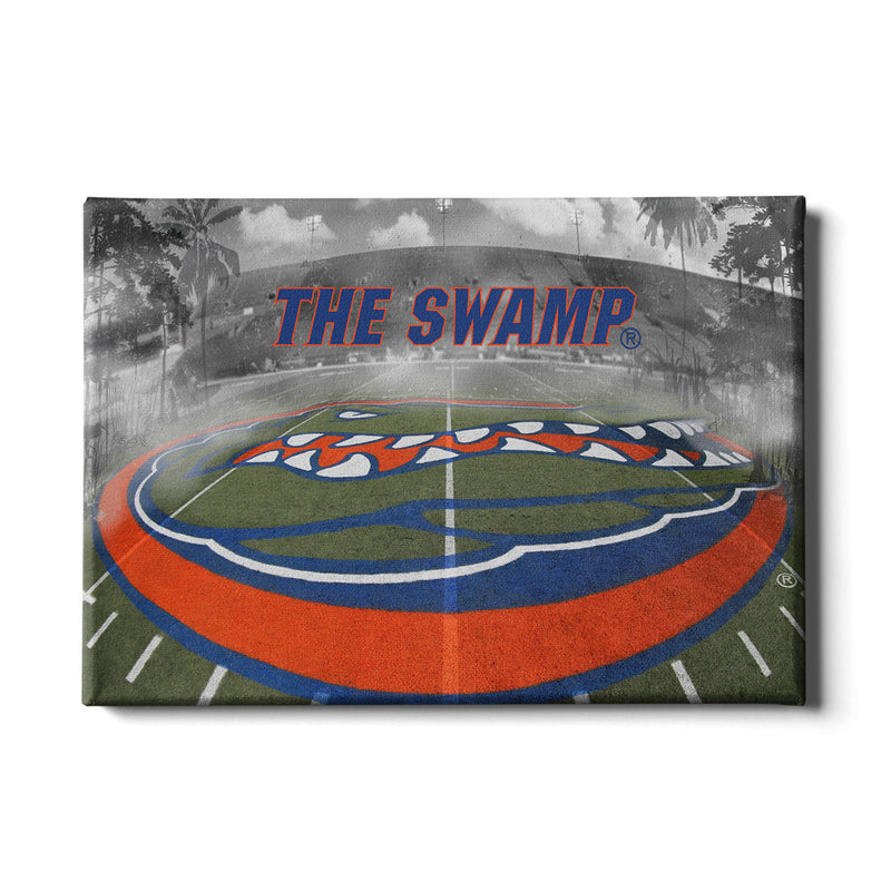 awesome Florida Gator Wall Art Part - 18: Florida Gators This is the Swampå¨ Canvas