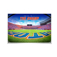 Florida Gators - This is the Swamp End Zone