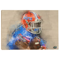 Florida Gators Gatorå¨ Watercolor Wood Art