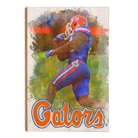 Florida Gators Gatorå¨ Run Wood Art
