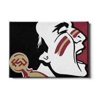 Florida State Seminoles Osceola Canvas