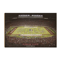 Florida State Seminoles Football - Officially Licensed Wood Art Piece