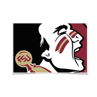 Florida State Seminoles Osceola Photo Print