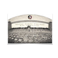 Florida State Seminoles Sod Cemetery Photo Print