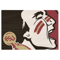 Florida State Seminoles Osceola Wood Art