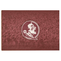 Florida State Seminoles War Chant Wood Art
