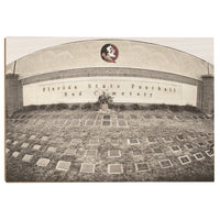 Florida State Seminoles Sod Cemetery Wood Art