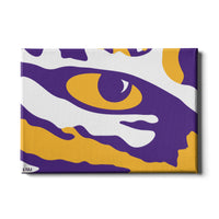 LSU Tigers Eye of the Tiger canvas