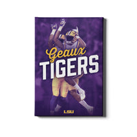 LSU Tigers Geaux Tigerå¨ High Five canvas