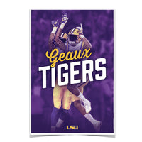 LSU Tigers Geaux Tigerå¨ High Five photo print