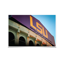 LSU Tigers Tiger Stadium䋢 photo print