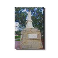 South Carolina Gamecocks Maxcy Monument Sketch Canvas
