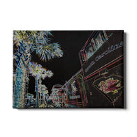 South Carolina Gamecocks Neon Cockaboose Canvas