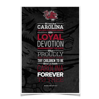 South Carolina Gamecocks We Hail Thee Carolina䋢 Photo Print