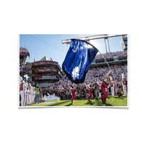 South Carolina Gamecocks Taking the Field Photo Print