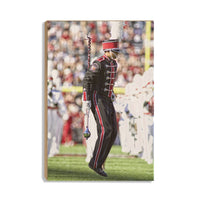 South Carolina Gamecocks Drum Major Wood Art