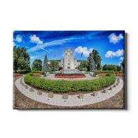 Virginia Tech Hokies Burrus Hall Canvas
