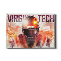 Virginia Tech Hokies Hokie䋢 Double Canvas