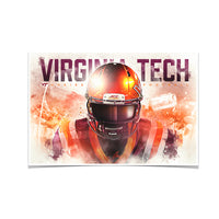 Virginia Tech Hokies Hokie䋢 Double Photo Print