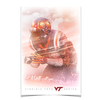 Virginia Tech Hokies Lets Go VT Hokies䋢 Photo Print