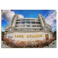 Virginia Tech Hokies Lane Stadium Wood Art
