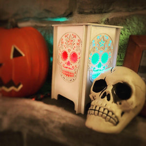 Candy Skull Luminary