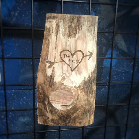 Love Captured in Wood
